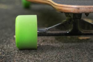 Longboard Rollen Grün
